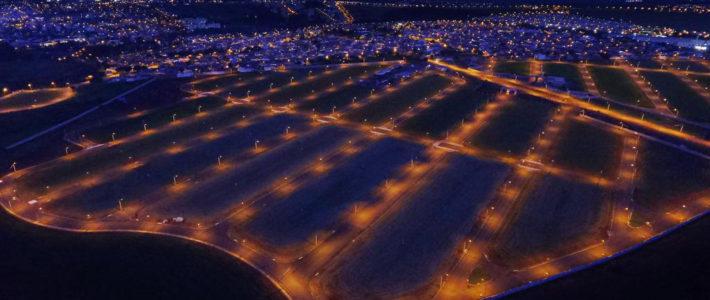 Rede elétrica e iluminação pública